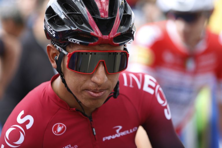 Egan Bernal at the 2020 Tour Colombia 2.1