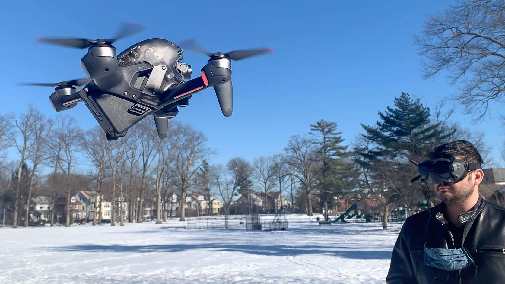 Évaluation du drone DJI FPV