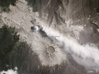 Chile volcano, eruptions, volcanic ash