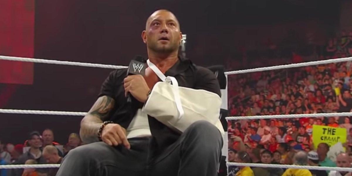 Dave Bautista on Monday Night Raw