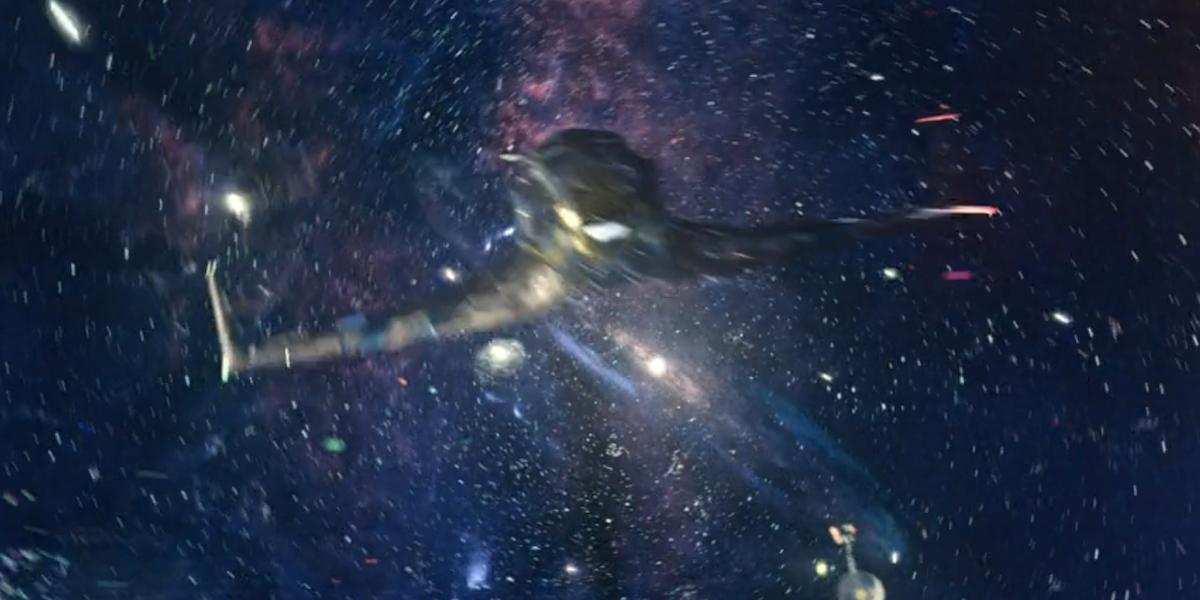 loki season 1 finale opening spaceship