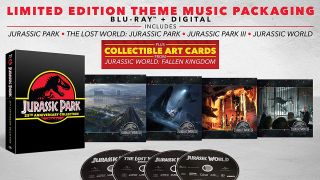 Get a 4-movie Jurassic Park 25th Anniversary Blu-Ray collection for $30 and save 51%