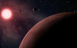 Mini Planetary System (Artist Concept)