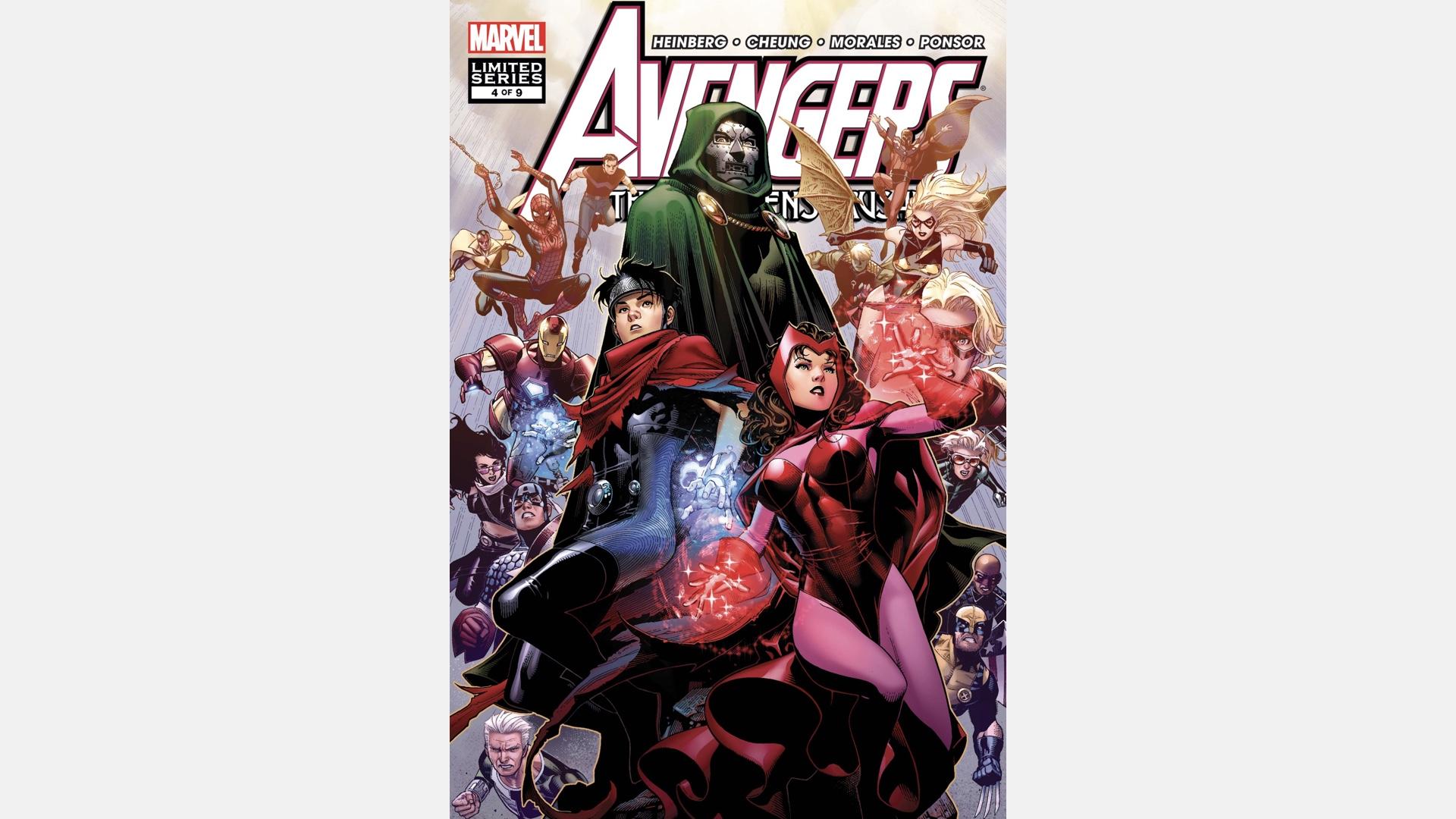 cover of Avengers: The Children's Crusade #4