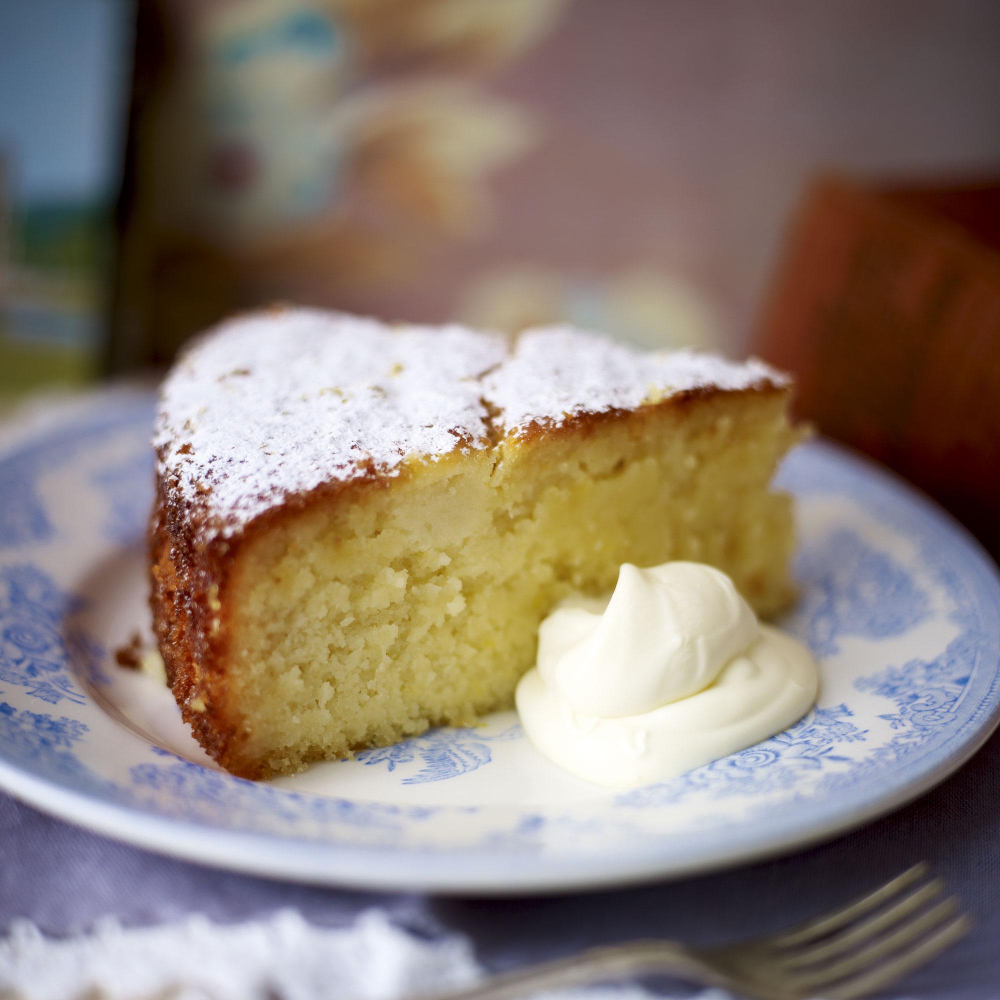 Gluten Free Sticky Lemon Cake