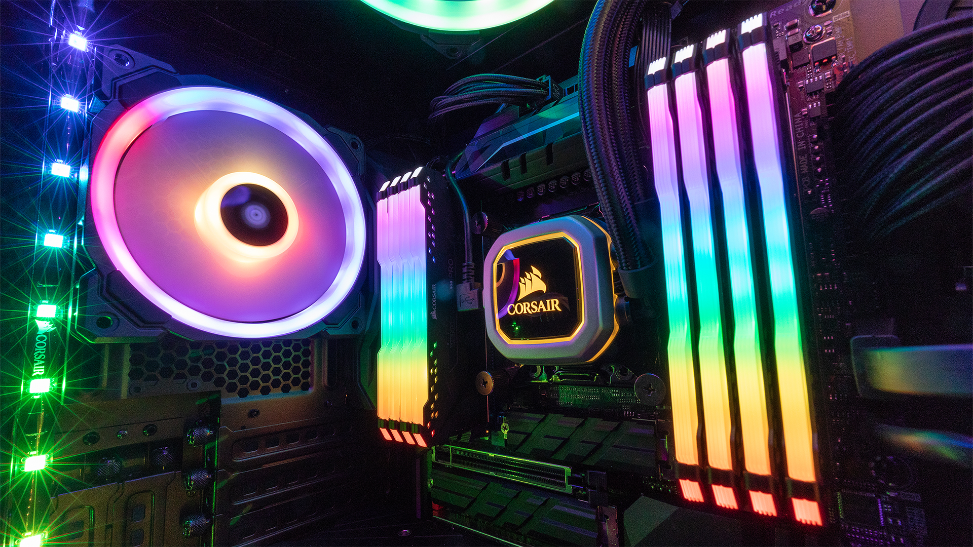 Corsair introduces true RGB memory for a completely lit setup