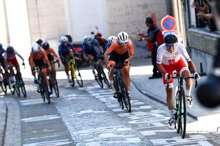 Katarzyna Niewiadoma (Poland) attacks in the peloton during the UCI Road World Championships 2021 - Women Elite Road Race