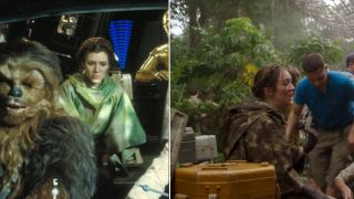 Star Wars: The Rise of Skywalker behind the scenes footage reveals a loving tribute to Carrie Fischer