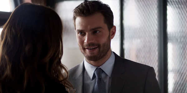 Jamie Dornan as Christian Grey in Fifty Shades Freed
