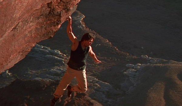 Mission Impossible climbing scene