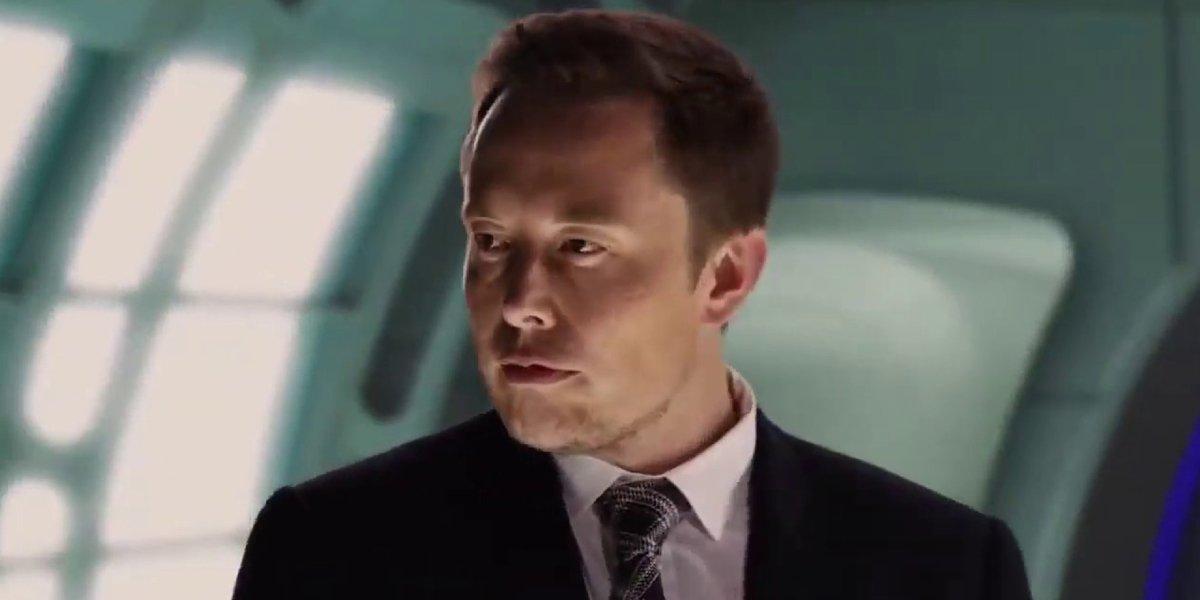 Elon Musk in Machete Kills