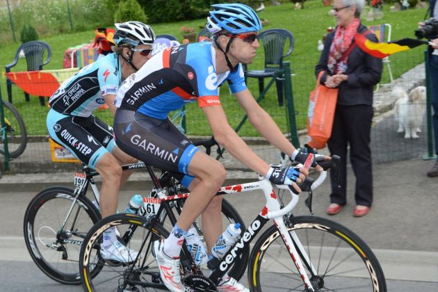 Ryder Hesjedal, Tour de France 2012, stage one
