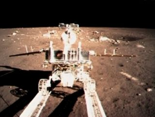 China's Yutu Rover on the Moon: Chang'e 3