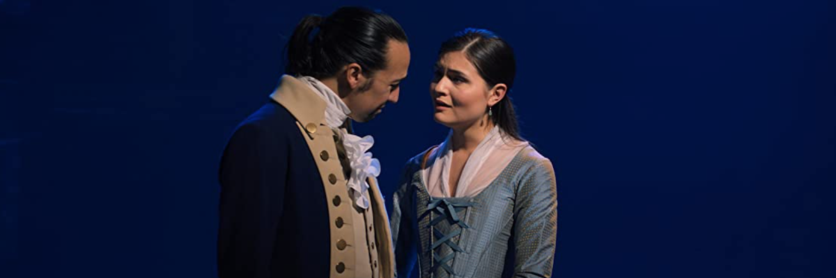 Eliza and Alexander in Hamilton