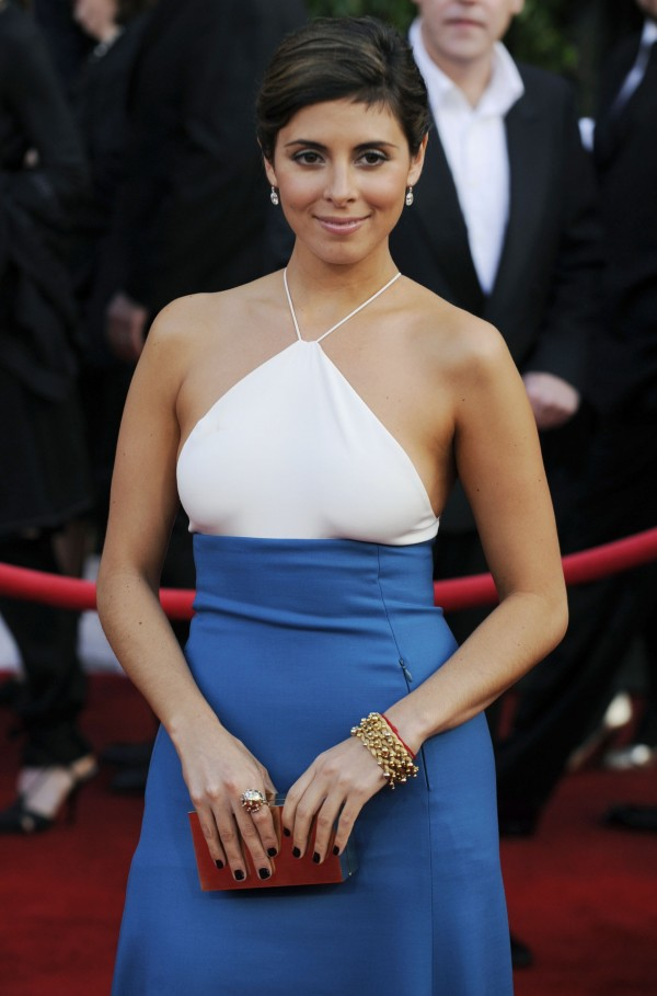 Jamie-Lynn Sigler arrives at the 14th Annual Screen Actors Guild Awards