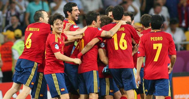 Italy v Spain, Euro 2012 Football Cup Final, Kiev, Ukraine - 01 Jul 2012