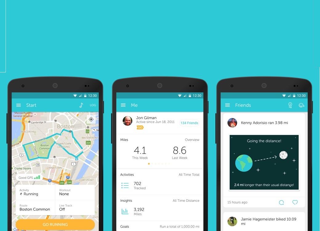 best iphone apps runkeeper