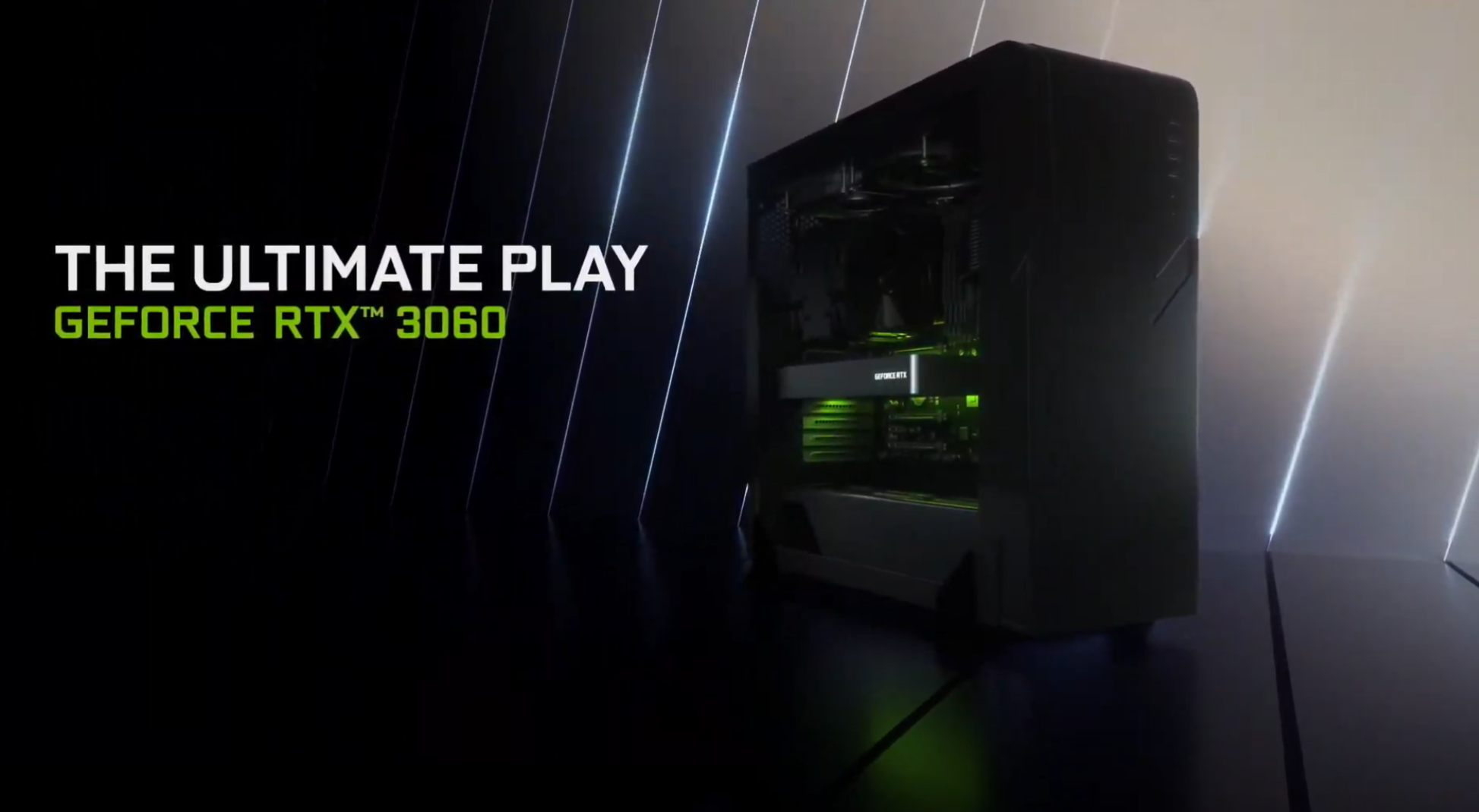 Nvidia RTX 3060 specs from CES 2021 special broadcast event