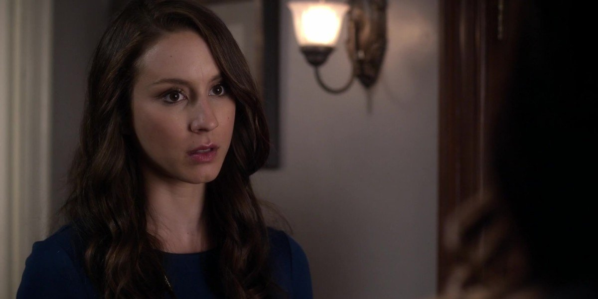 Troian Bellisario as Spencer in Pretty Little Liars