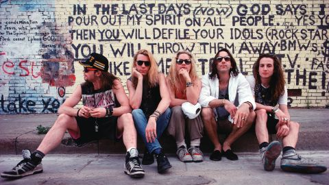 Mother Love Bone band photograph