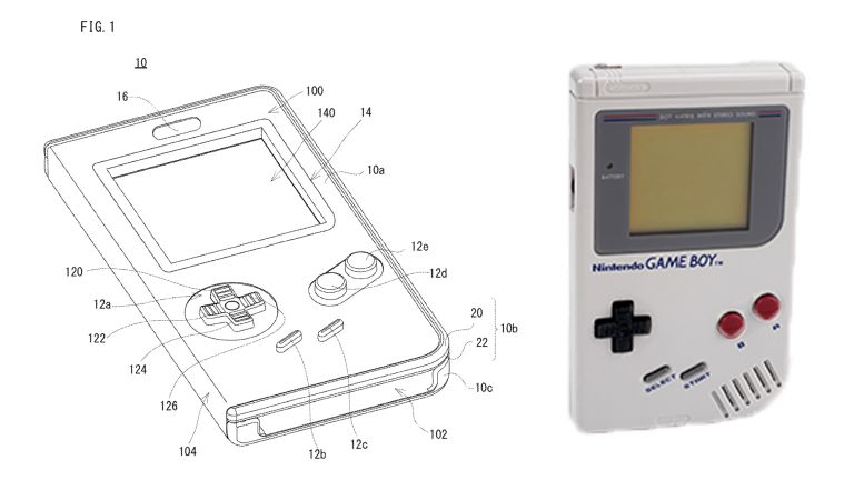 Nintendo patents case that turns phone into a working Gameboy