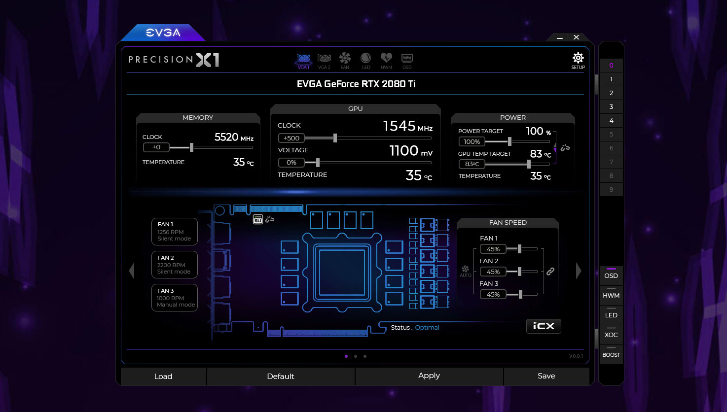 EVGA rolls out revamped Precision X1 overclocking software