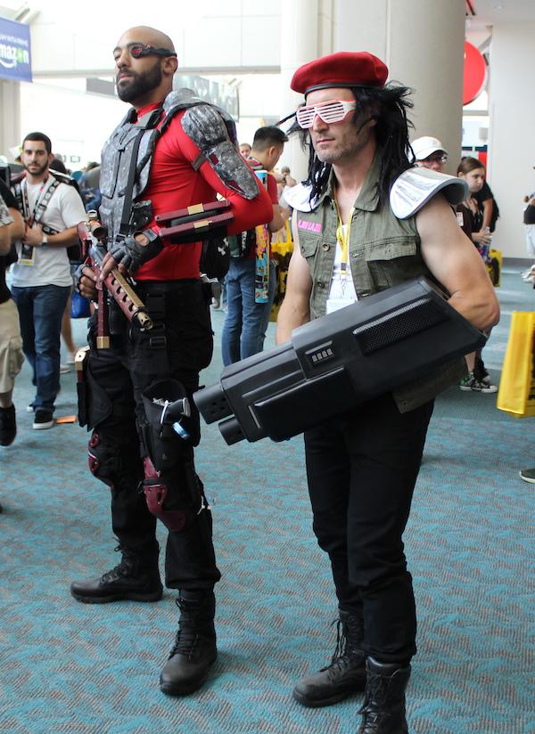 SDCC Costume big guns
