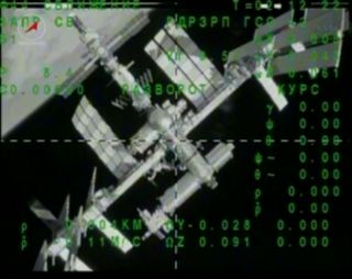 Astronauts Undock from Space Station on May 13, 2013