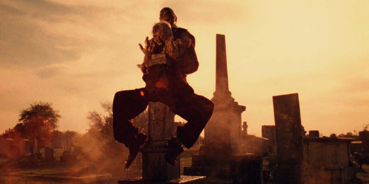 A shot from The Texas Chainsaw Massacre