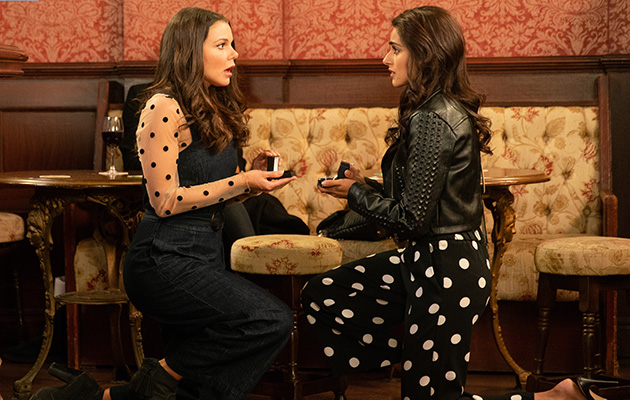 Coronation Street - Kate and Rana get engaged!