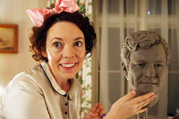 Olivia Colman: 'I like that she's not quite right'