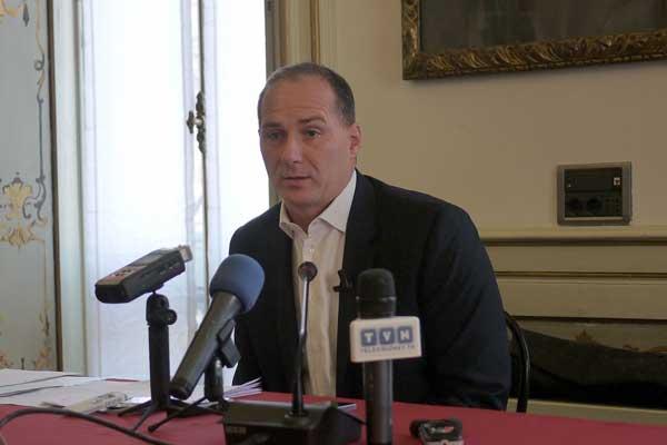 Michele Acquarone, press conference, Milan, December 2013