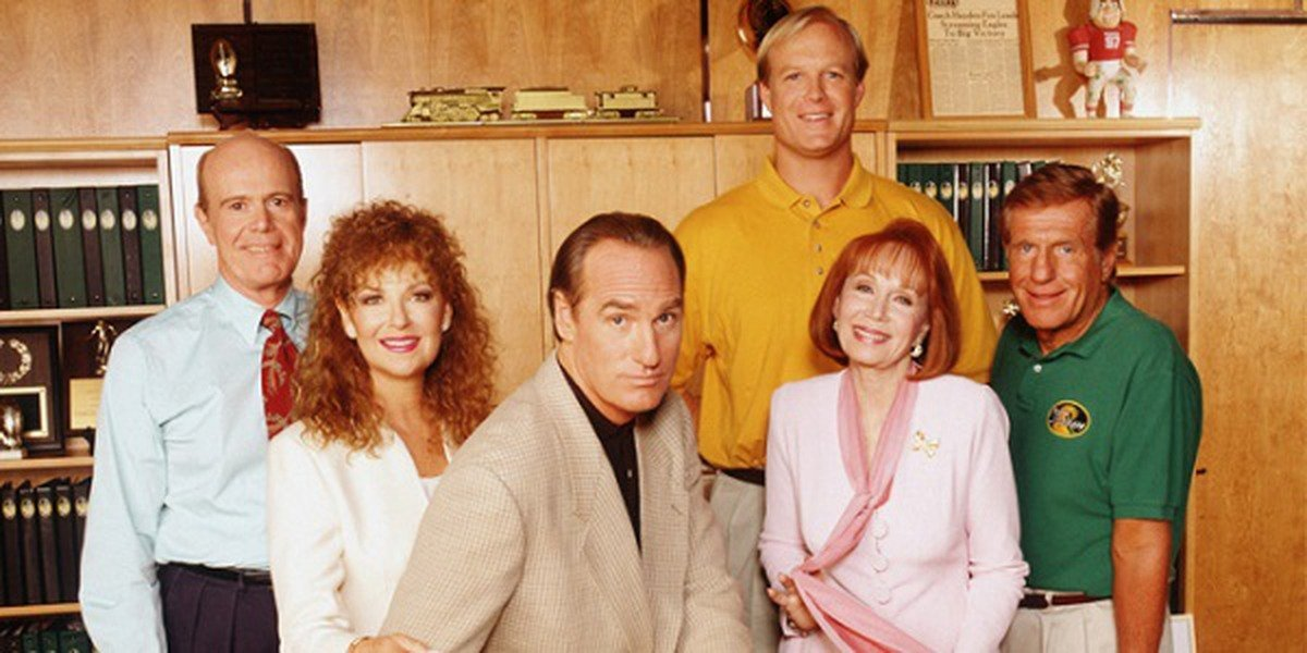 Some of the main cast of Coach.