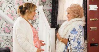 Diane Langton plays Nana McQueen in Hollyoaks