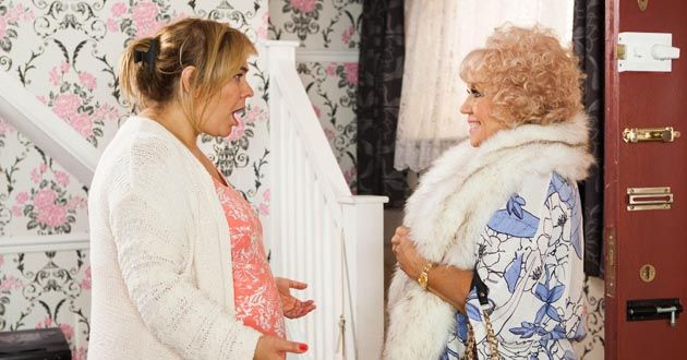 Diane Langton plays Nana McQueen in Hollyoaks
