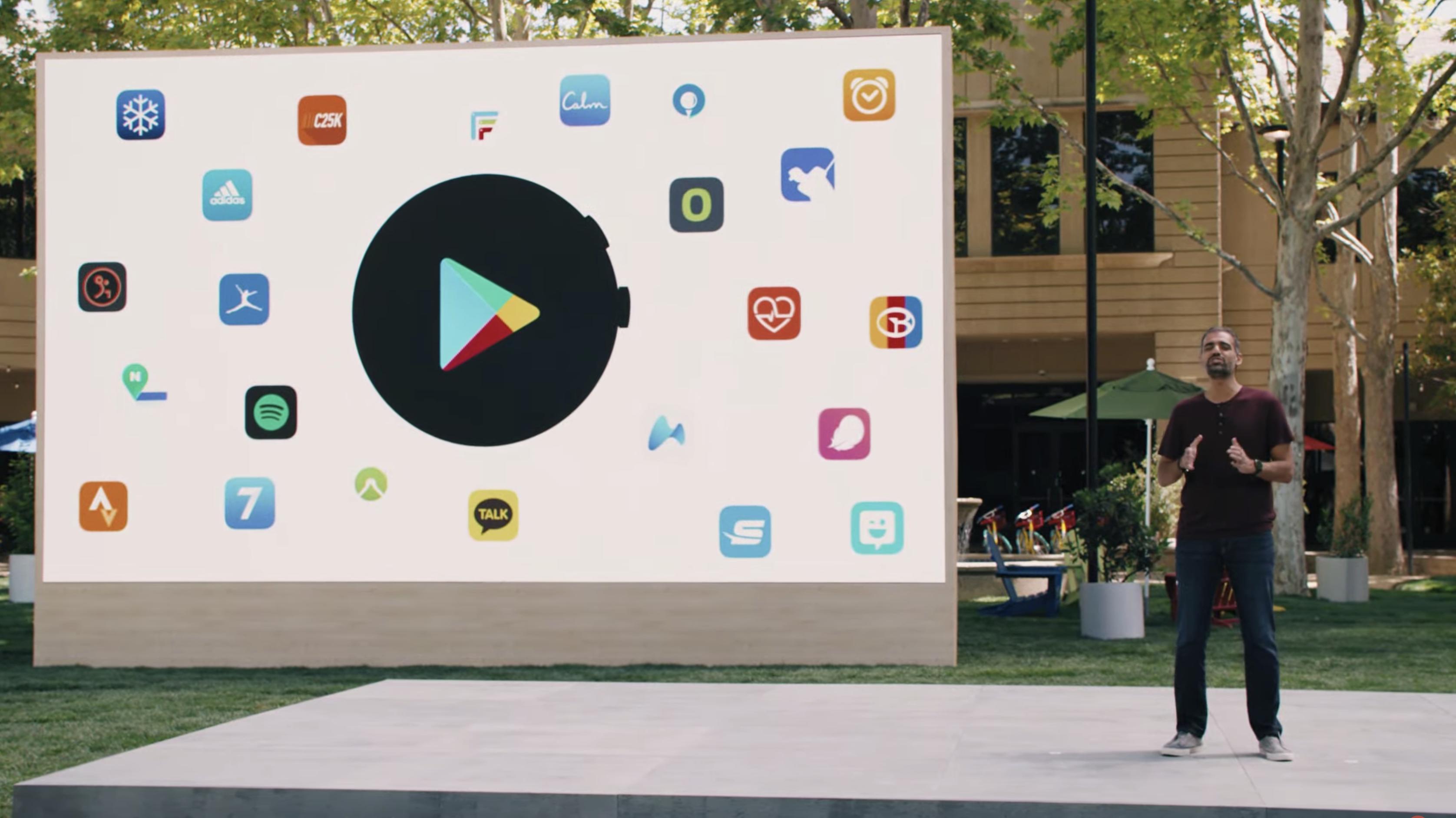 Google IO 2021 WearOS