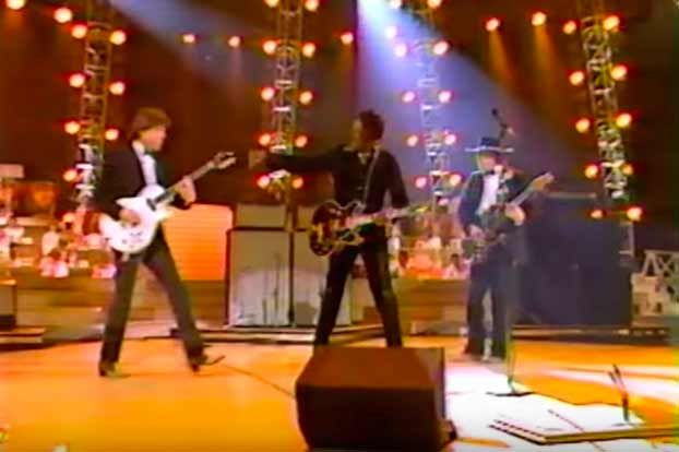 Watch Chuck Berry Rock the Grammys with Stevie Ray Vaughan and George Thorogood