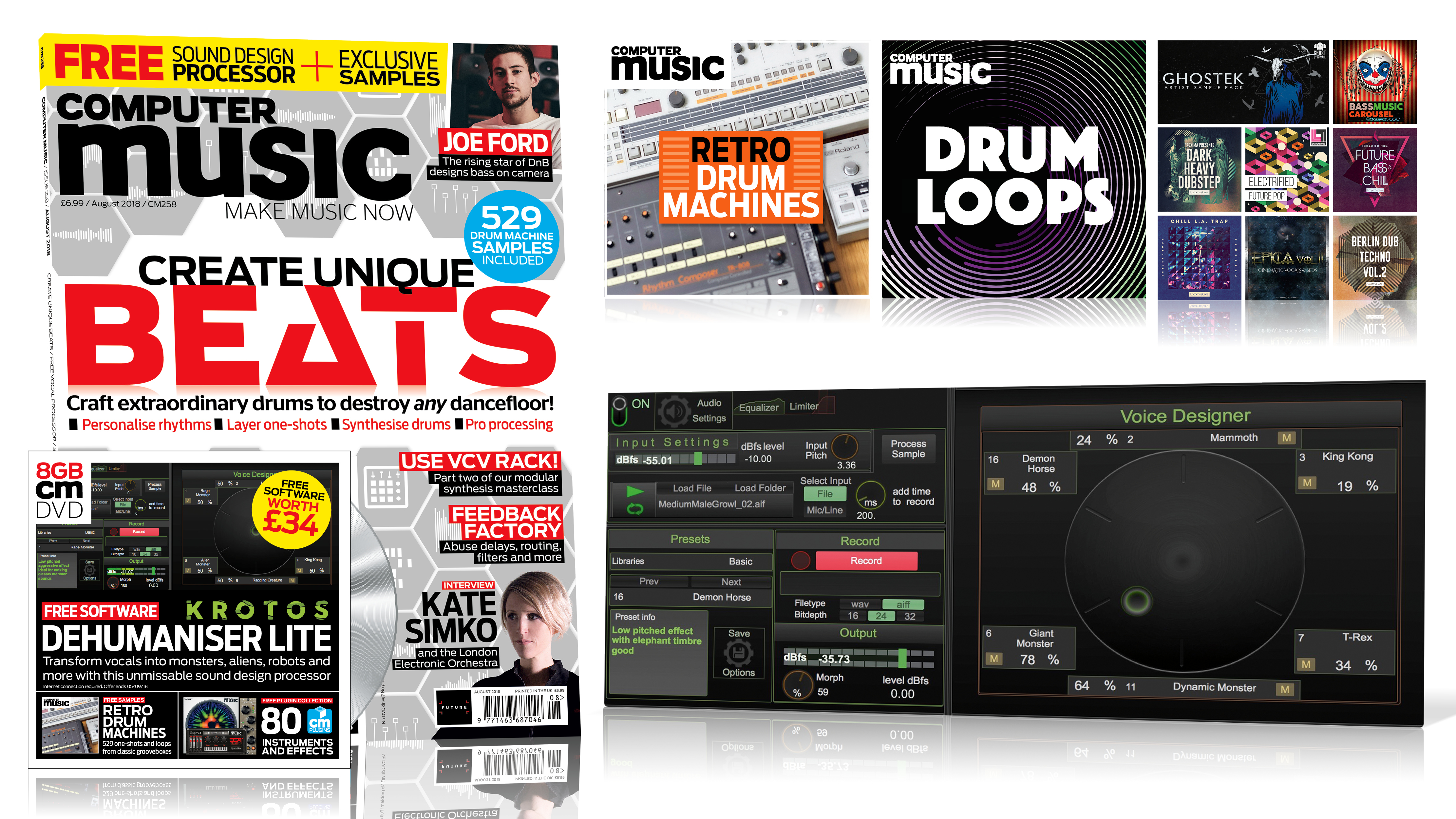 CREATE UNIQUE BEATS – Computer Music issue 258 is out now! | MusicRadar