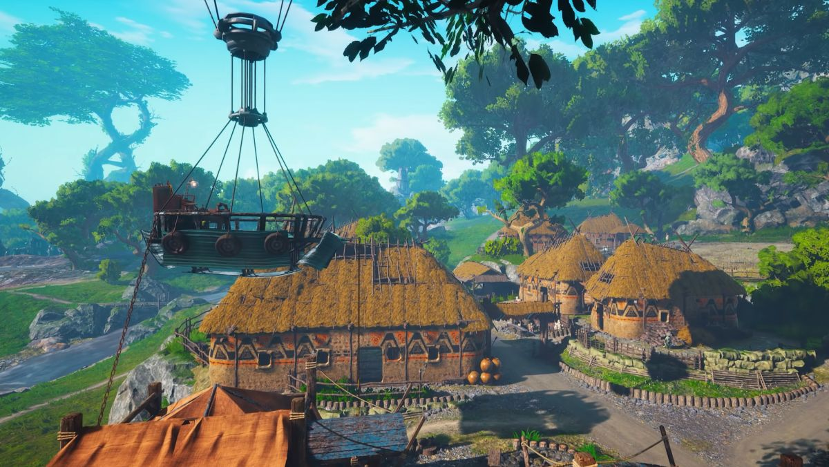 Biomutant trailer shows the serene world you'll explore when you're not busy kicking ass