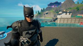 where is batman in fortnite