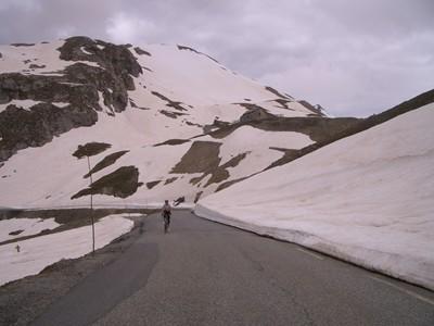 Col du Galibier 2008