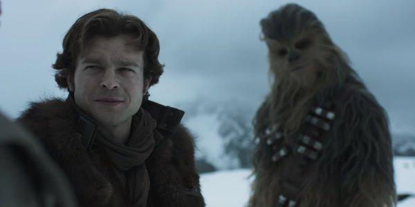 Han Solo Star Wars Chewbacca Alden ehrenreich