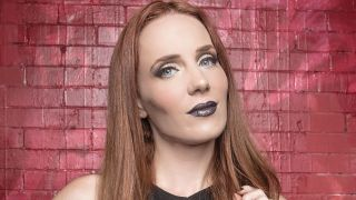 A portrait of Simone Simons