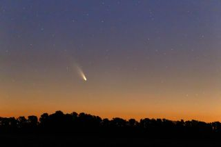 Comet Pan-STARRS on March 2, 2013