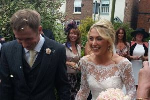Jason Kenny and Laura Trott get married in low-key wedding