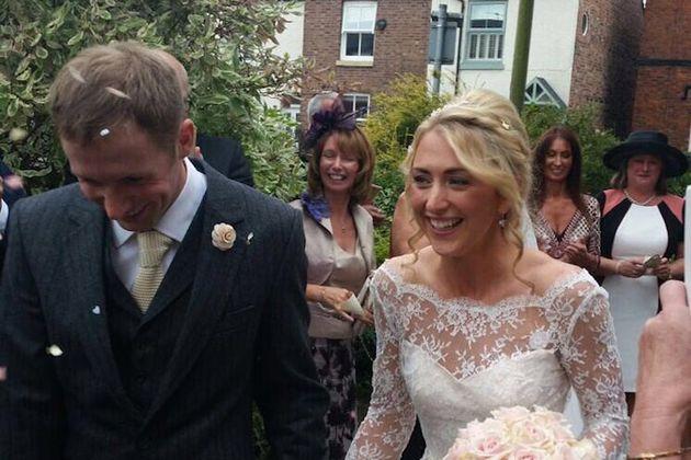Jason Kenny And Laura Trott Get Married In Low Key Wedding
