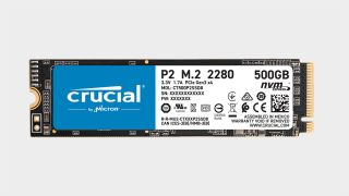 Crucial P2 NVMe SSD