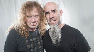 a portrait of dave mustaine and scott ian together