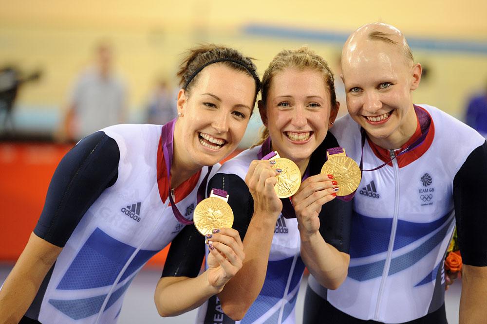 Dani King Laura Trott And Joanna Row London 2017 Olympic Track Day