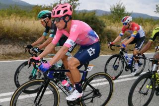 Rigoberto Uran during stage 3 of the Vuelta a Espana